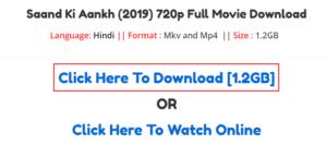 Saand ki aankh full movie download